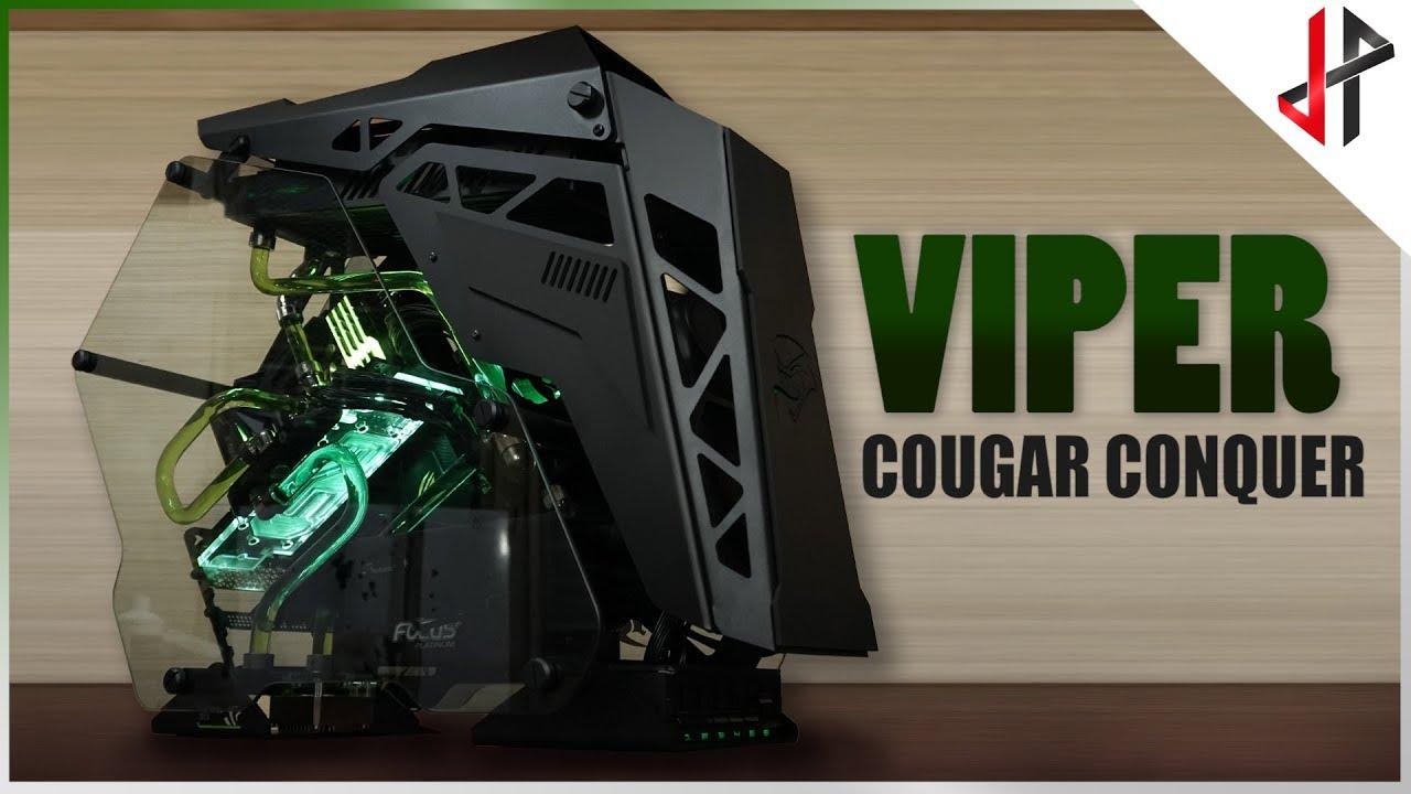 COUGAR CONQUER Gaming PC Case - COUGAR
