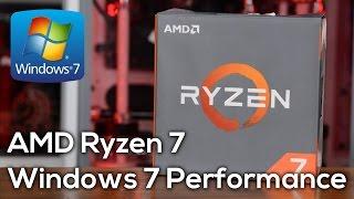 Ryzen 7 1800X: Windows 7 vs. Windows 10 Gaming Performance