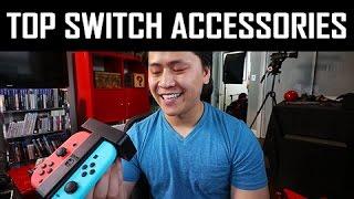 TOP 7 Nintendo Switch Accessories (MUST BUY Post Launch)