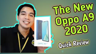 OPPO A9 2020 quick Review