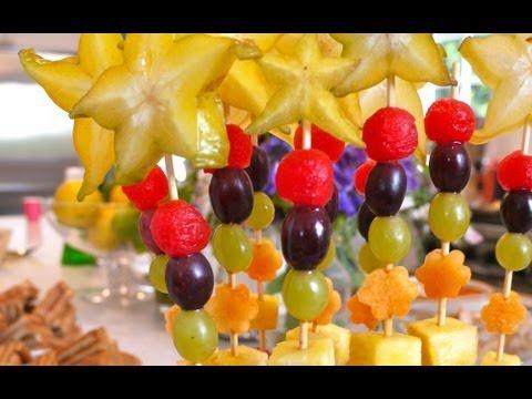 Fruit Wands - Fun Snacks for Kids - Weelicious