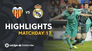 Download Highlights Valencia CF vs Real Madrid (1-1) Mp3 and Videos