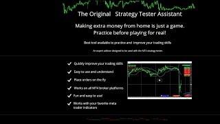 Forex Live Chat.  MT4 Trading Simulator EA demo.