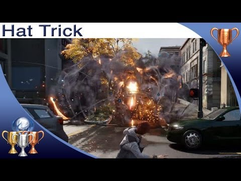 InFAMOUS: Second Son - Hat Trick - Trophy Guide (Defeat One Enemy With 3 Different Powers)