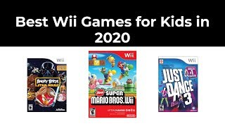 Best Wii Games For Kids In 2020