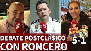 Barcelona 5 Real Madrid 1 | Análisis de la crisis del Real Madrid  con RonceroI Diario AS