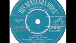 "Freda Payne -- ""Desafinado"" (UK HMV) 1962"