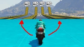 MOTO TROLL! CUIDADO! - CARRERA GTA V ONLINE - GTA 5 ONLINE
