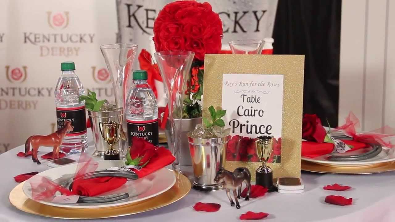 Charmant How To Decorate Tables   Kentucky Derby Party   Shindigz Party Supplies