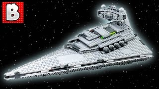 Lego Star Wars Imperial Star Destroyer Set 75055 | Unbox Build Time Lapse Review + UCS Comparison