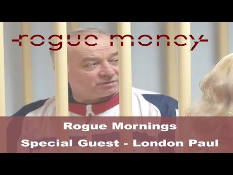 Rogue Mornings - Special Guest - London Paul (03/16/18)