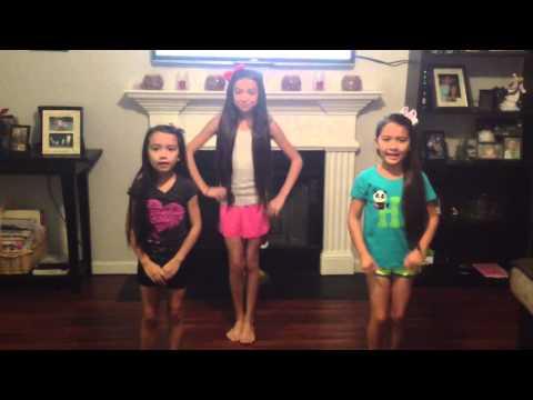 KaylaNatalieHailey singing Shower by Becky G