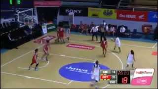 Maria Selena WNBL Indonesia, Merah Putih Predators VS Rajawali Bandung, January 22 2015