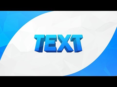 HOW TO MAKE COOL 3D TEXT ON ANDROID