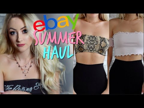 EBAY TRY ON HAUL: Cheap & Trendy Instagram Clothes