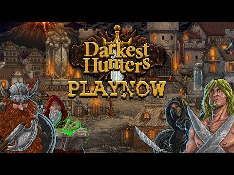 PlayNow: Darkest Hunters | PC Gameplay (Adventure Fantasy Strategy Puzzle RPG)