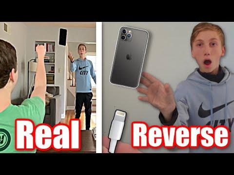 Reverse Trick Shots, But it's Not Reversed