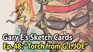 Drawing Torch from G.I. JOE - Gary E
