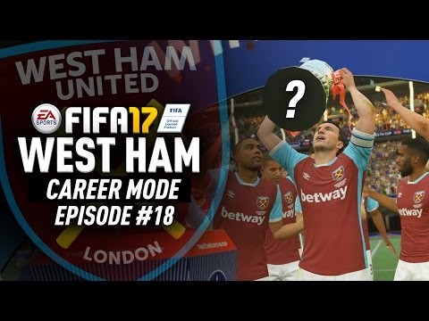 FA CUP AND EUROPA LEAGUE FINALS!!! FIFA 17 West Ham Career Mode #18