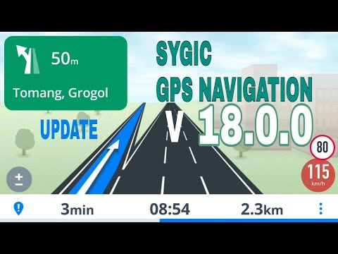 Sygic GPS Navigation V.18.0.0 + Data Maps 2019