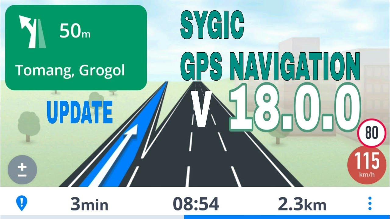 Sygic GPS Navigation v 18 0 0 + Data Maps 2019