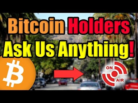 Bitcoin Holders: WE ARE LIVE | Where Will Bitcoin's Price Be In 2020? [AMA]