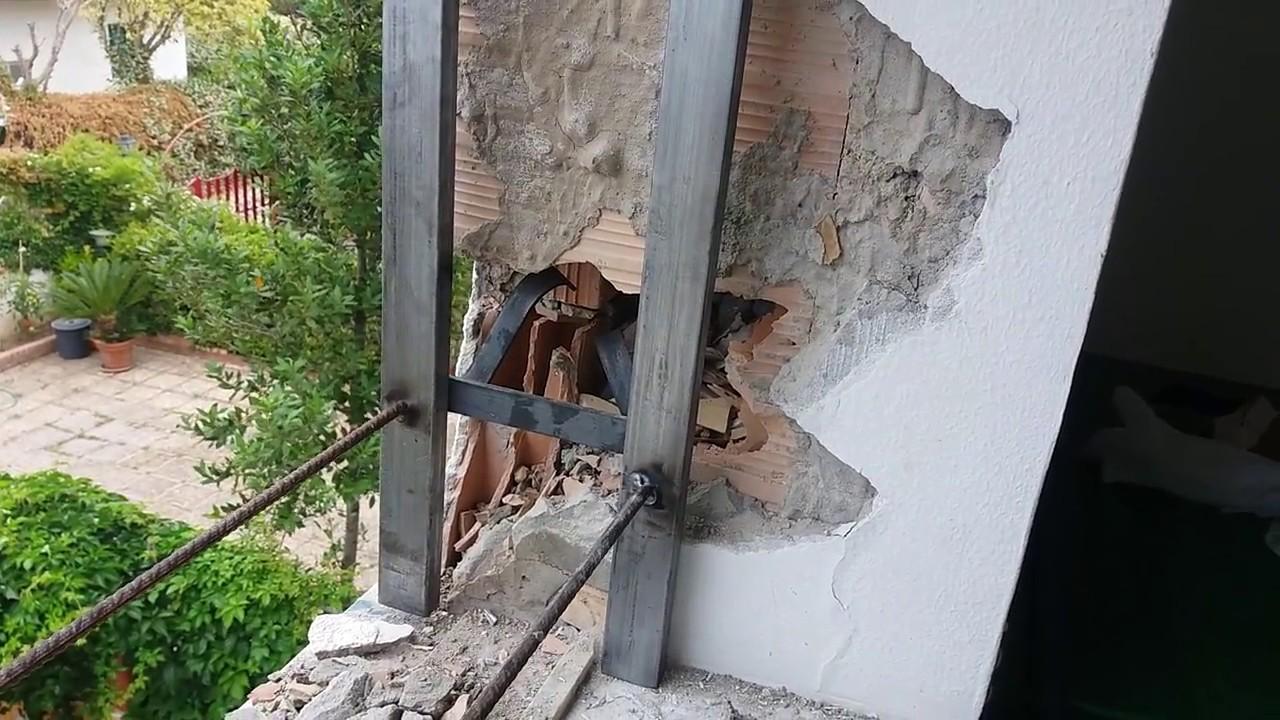 Come Montare Un Controtelaio montaggio controtelai tubolari per infissi - install counterframe for  windows