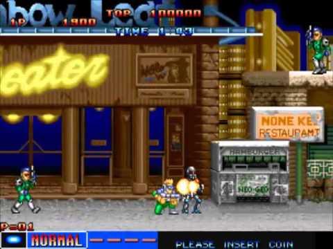 Cyber-Lip NGM-010 MAME Gameplay video Snapshot -Rom name cyberlip-