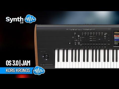 KORG KRONOS OS 3 0   Jam   Synthcloud