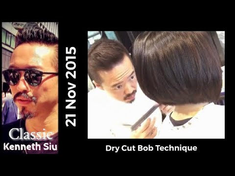 Kenneth Siu's Haircut – Reverse Graduation Bob