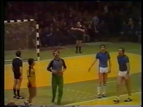 SII ZAPOROJE - MINAUR BAIA MARE 21 APRIL 1985 HANDBALL IHF CUP FINAL
