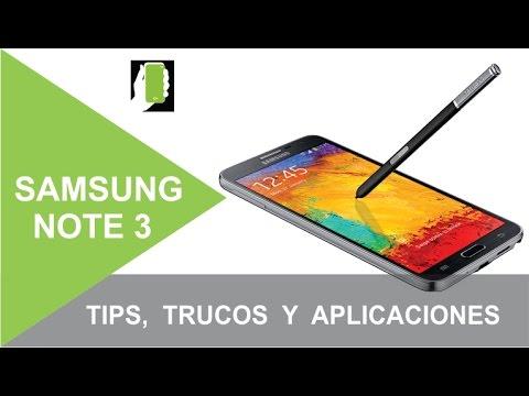 SAMSUNG GALAXY NOTE 3 Tips, Trucos Y Aplicaciones Recomendadas Para ANDROID HD