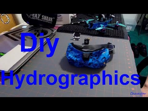 Diy hydrographics fatshark hd3's + laforge install