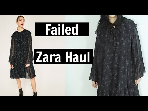 Failed Zara Haul-Shopping online vs. Reality