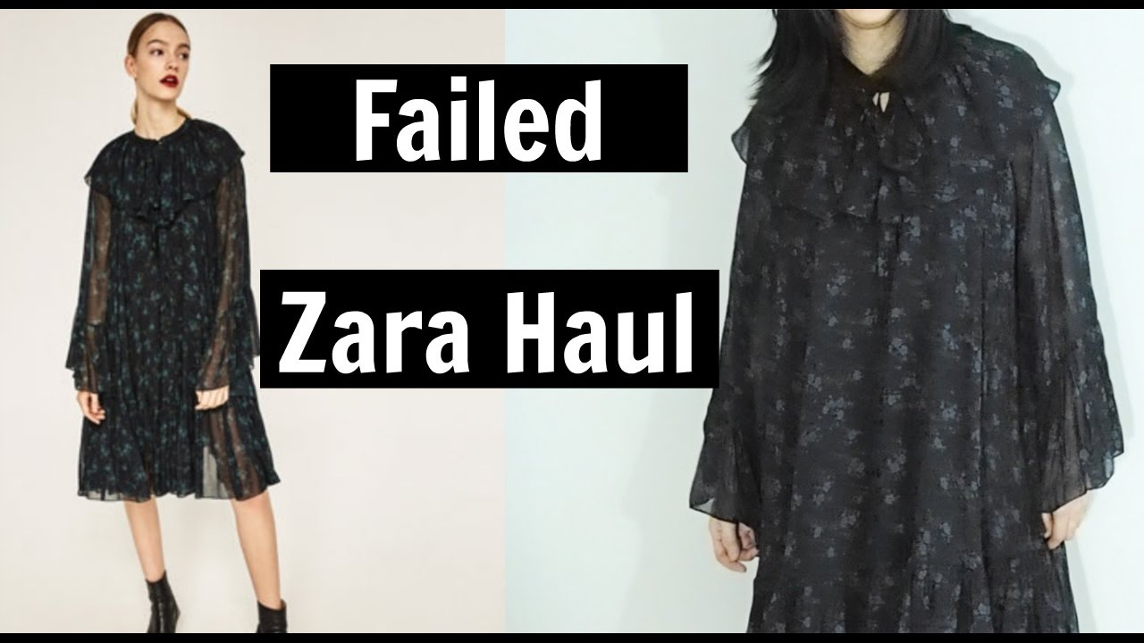 failed zara haul shopping online vs reality youtube. Black Bedroom Furniture Sets. Home Design Ideas