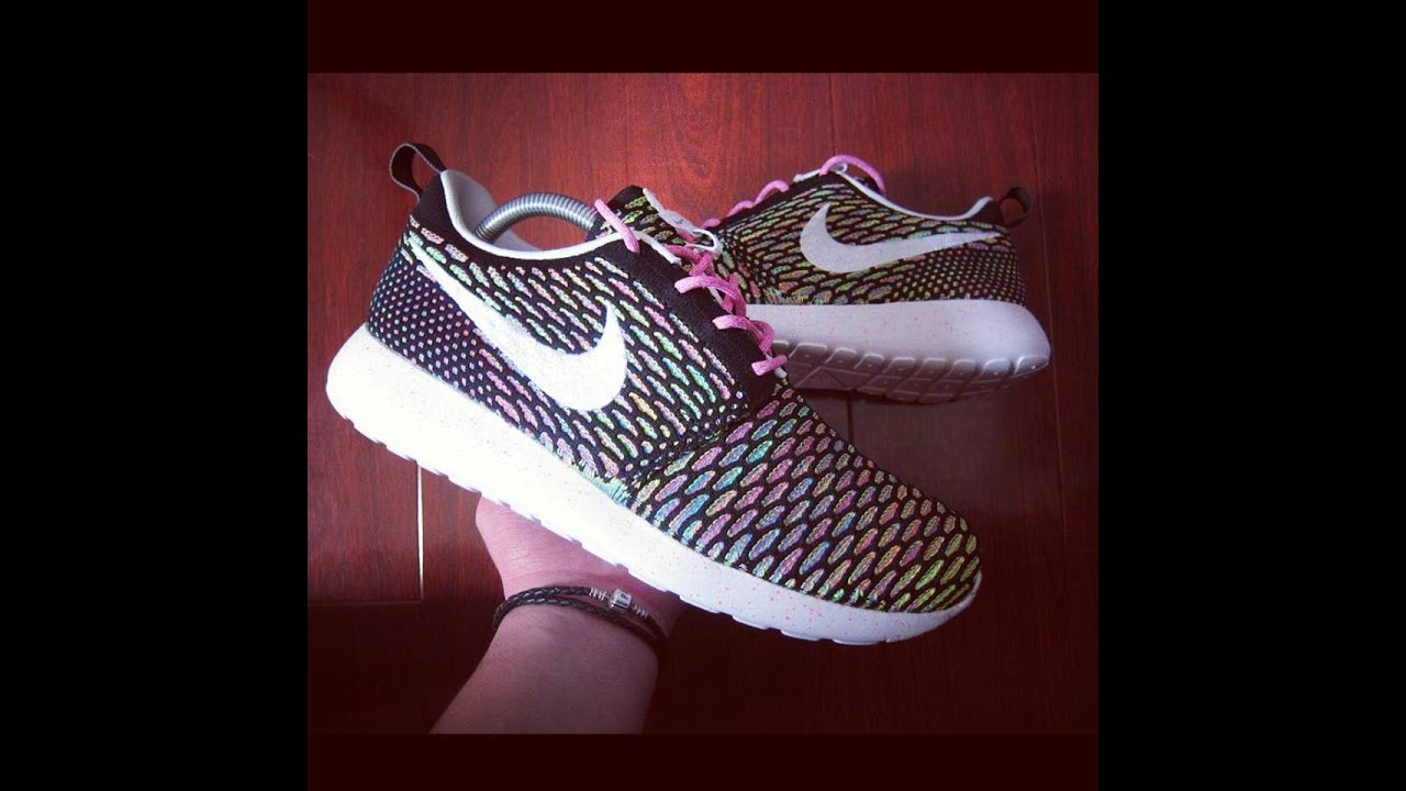 Roshe Courir Flyknit Nike Crampons Id