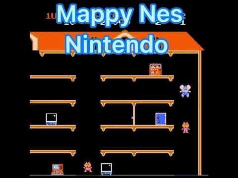 Mappy Nintendo Nes round 1