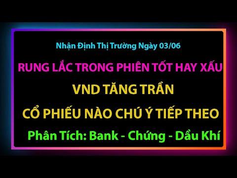 Chứng khoán hôm nay| Nhận Định Thị Trường 03/06| CP Chú Ý