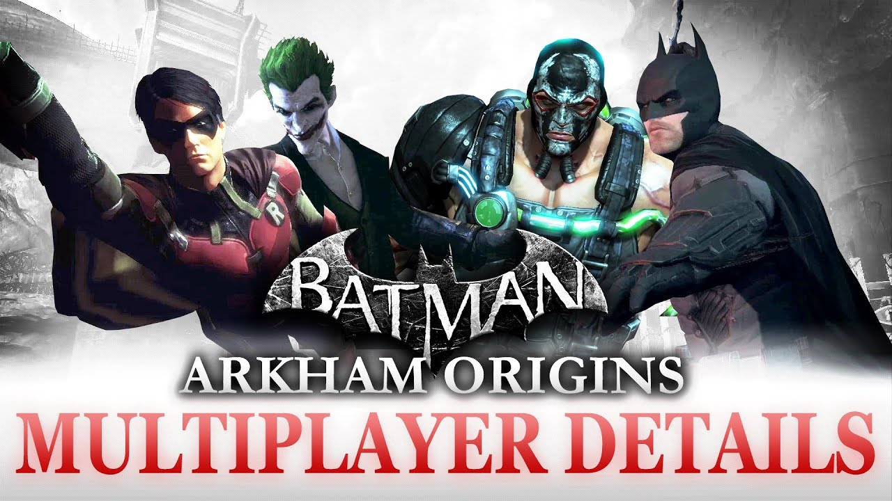 Batman: Arkham Origins - Multiplayer Details and Character ...