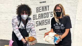 Trying Benny Blanco's Smash Burger | VLOG