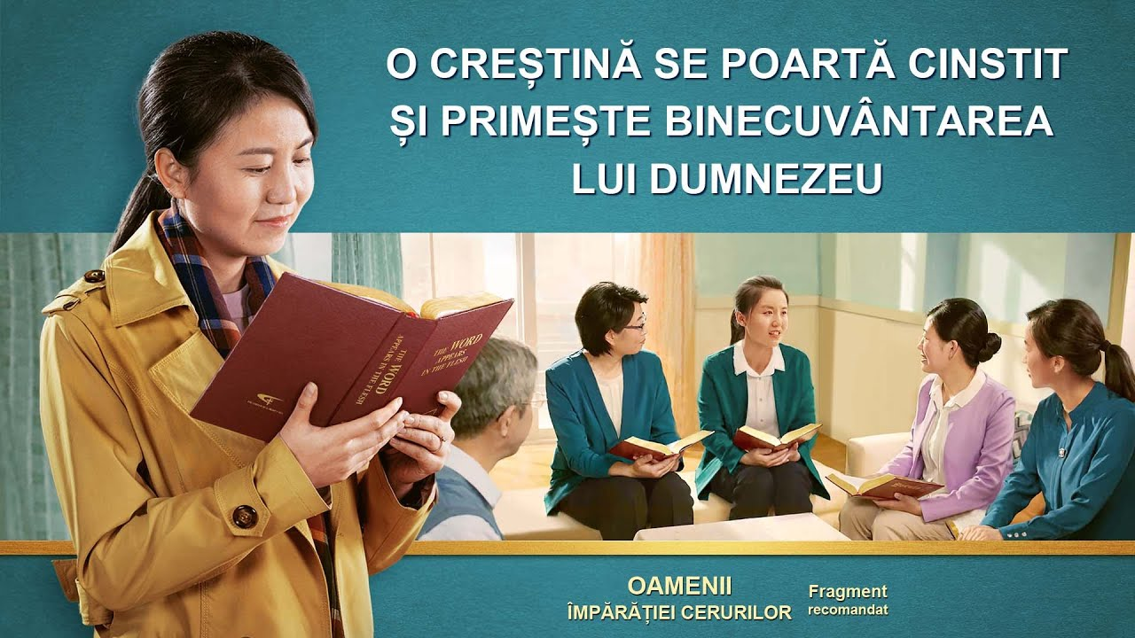 """Film creștin """"Oamenii împărăției cerurilor"""" Fragment 1 - O creștină se poartă cinstit și primește binecuvântarea lui Dumnezeu"""