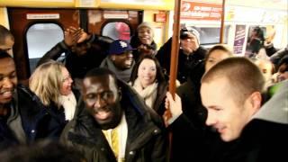 Panetoz - Dansa Pausa flashmob i tunnelbanan