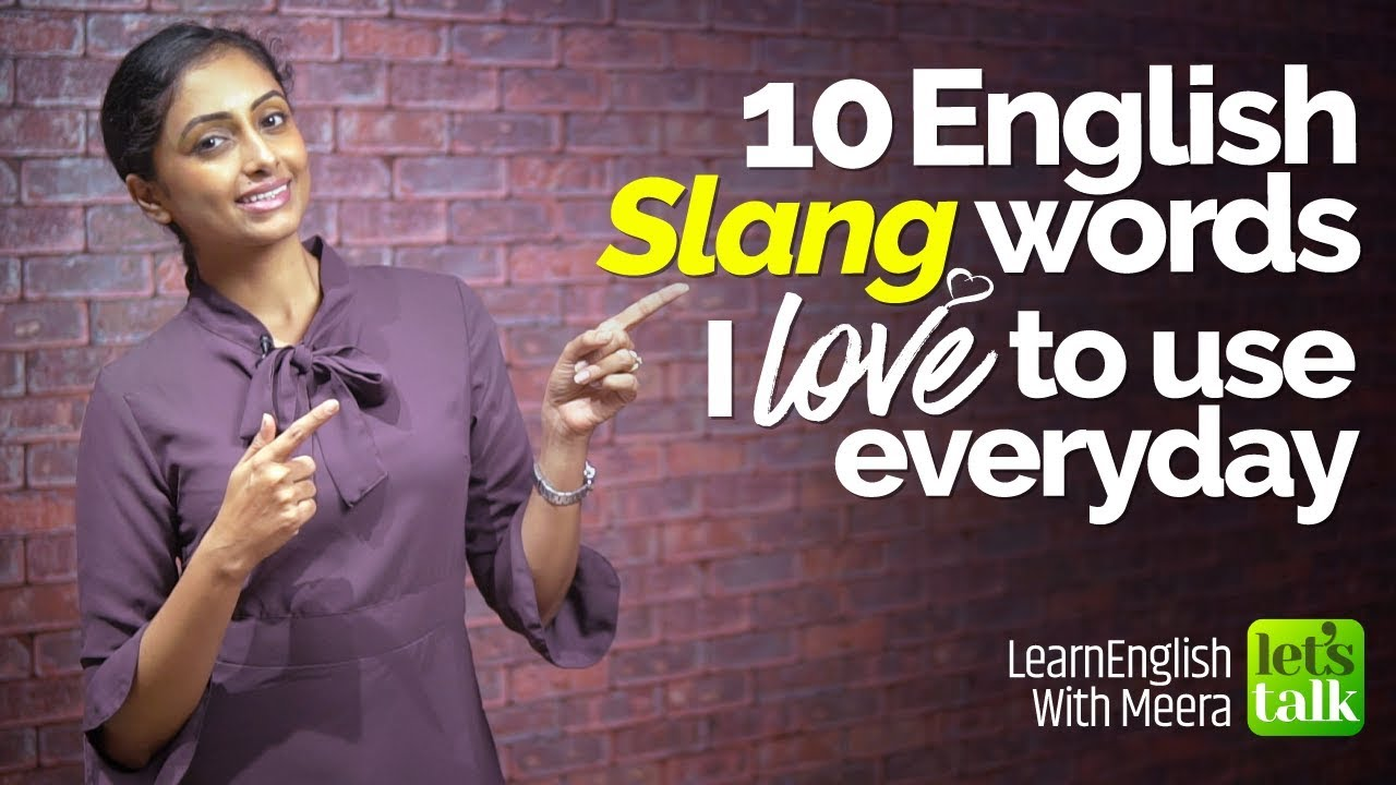the two slang words i use in my everyday life The use of and constant flux in slang is the only exciting thing happening in language, making present day especially interesting with the wealth of new words and definitions appearing seemingly everywhere.