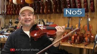 How Good Do W.DANIEL Violins Sound ?