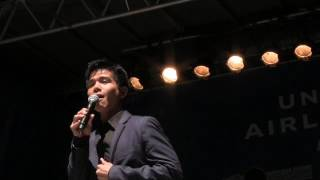 Telly Leung Sings from Aladdin
