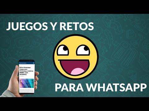 Retos WhatsApp, Juegos para WhatsApp y Cadenas 2020 【LOS MEJORES】