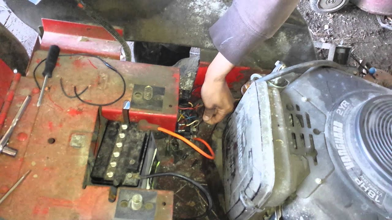 medium resolution of snapper mower wiring