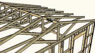 Roof Space Diagonal Brace