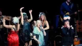 Eva Maria Nina Cosma Shiva Hagen Birthday Brecht-zur-Klampfe concert Berliner Ensemble 10 19 15