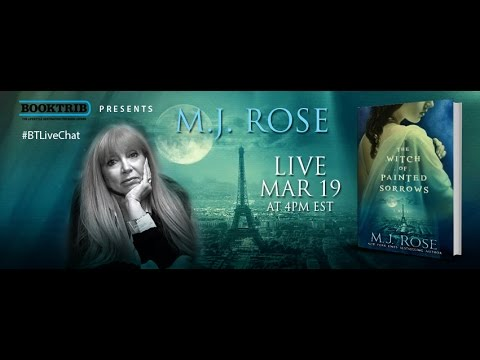 Interview with M.J. Rose, Author of The Witch of Painted Sorrows
